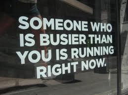 busy runner
